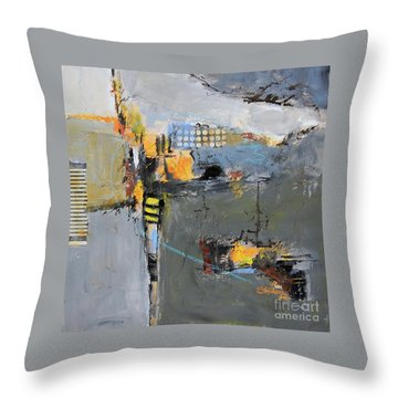 Getting There Throw Pillow