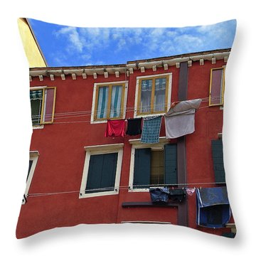 Throw Pillow featuring the photograph Getting To Know You by Lynda Lehmann
