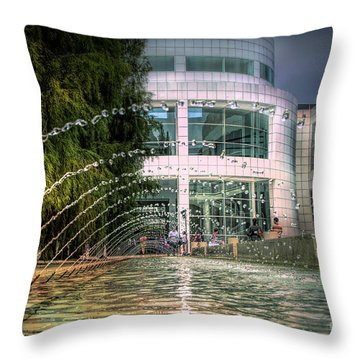 Getty Architecture Museum Los Angeles California  Throw Pillow