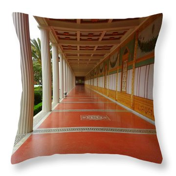 Getty Villa Throw Pillow