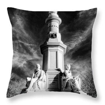 Gettysburg Address Site Throw Pillow