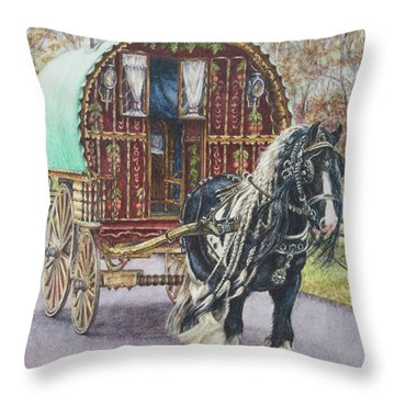 G G L Divo's Pride And Glory Throw Pillow