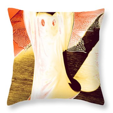 Ghost #1 Throw Pillow