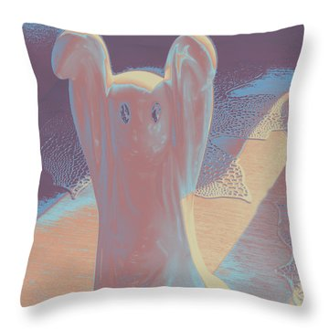 Ghost #2 Throw Pillow