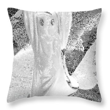 Ghost #3 Throw Pillow
