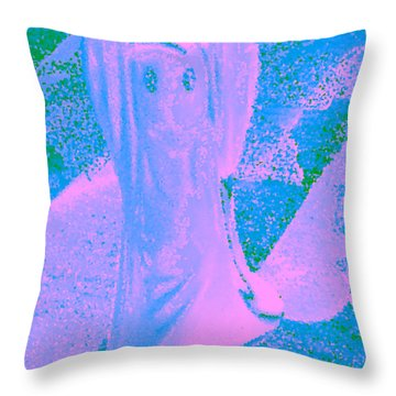 Ghost #4 Throw Pillow