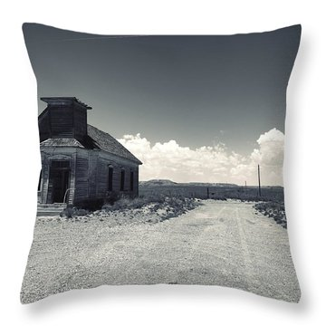 Ghost Church Throw Pillow