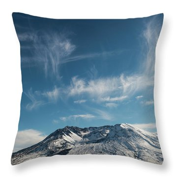 Ghost Clouds Throw Pillow