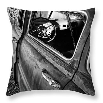 Ghost Driver Throw Pillow