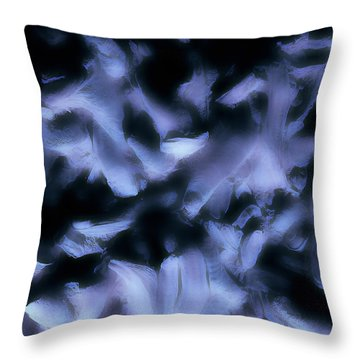 Throw Pillow featuring the photograph Ghost Fingers by Menega Sabidussi