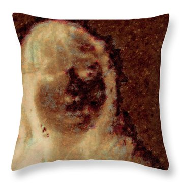 Ghost Girl Throw Pillow by J Riley Johnson