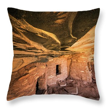 Ghost Hand Throw Pillow
