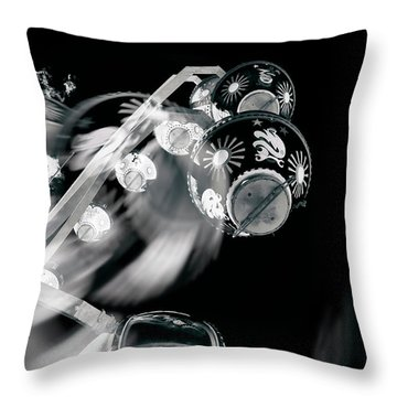 Throw Pillow featuring the photograph Ghost In The Machine by Wayne Sherriff