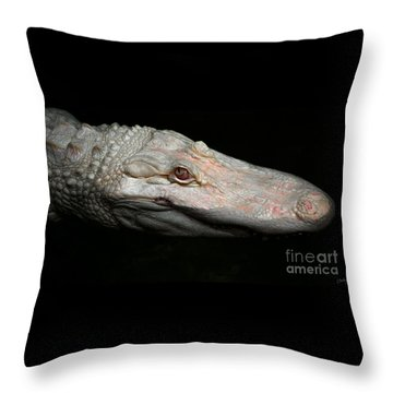 Ghost Of The Bayou Throw Pillow