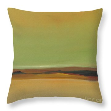 Ghost Ranch Throw Pillow