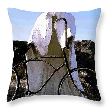 Ghost Rider Throw Pillow