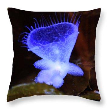 Ghost Heart Throw Pillow