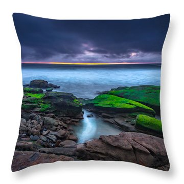 Ghost Tide Throw Pillow