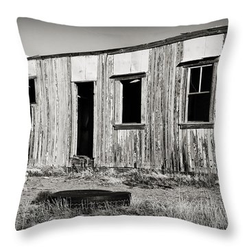 Ghost Town Relic In Cuervo Throw Pillow