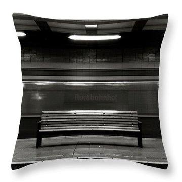 East Berlin Ghost Train Throw Pillow