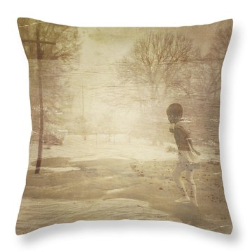 Ghosts And Shadows Vi - Mistaken Throw Pillow
