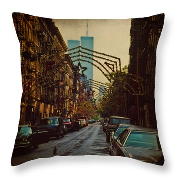 Ghosts Throw Pillow by Chris Lord