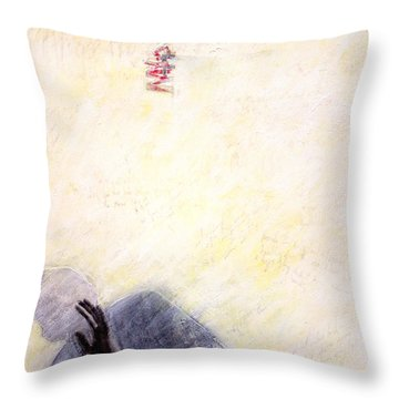 Ghosts In My Machine Throw Pillow