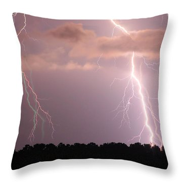 Ghosts In The System Throw Pillow