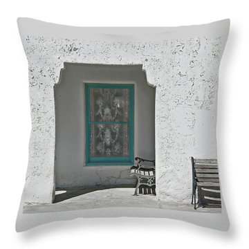 Throw Pillow featuring the photograph Ghosts by Jeff Burgess