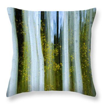 Ghosts Of Fall Throw Pillow