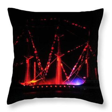 Ghosts Of Gasparilla Throw Pillow by David Lee Thompson