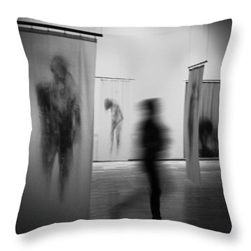 Blur Throw Pillows