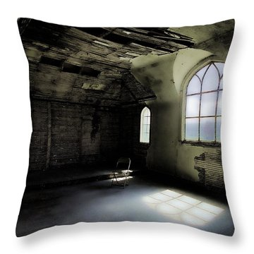 Ghosts Remain Throw Pillow