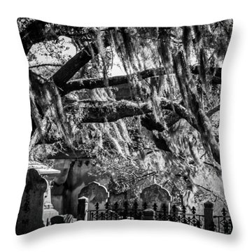 Ghoul's Night Out Throw Pillow