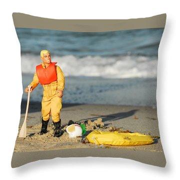Gi Joe Marooned Throw Pillow