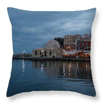 Giali Tzamissi  Throw Pillow