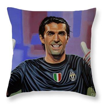 Uefa Throw Pillows