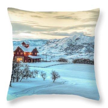 Giant's View  Throw Pillow