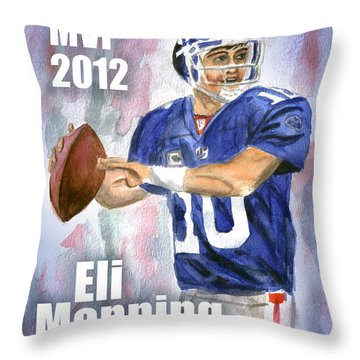 Giants Win Throw Pillow
