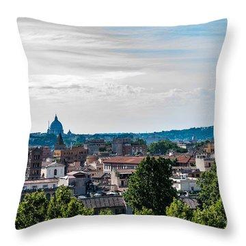 Giardino Degli Aranci Throw Pillow