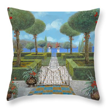 Giardino Italiano Throw Pillow