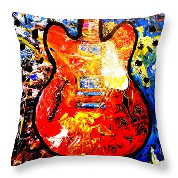 gibson ES-335 Throw Pillow