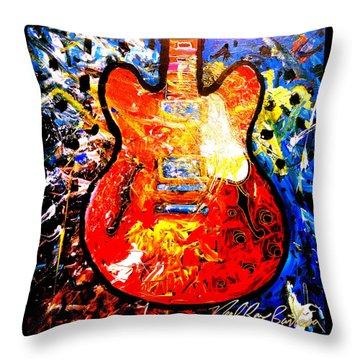 gibson ES-335 Throw Pillow