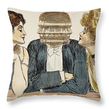 Gibson Girls, 1903 Throw Pillow by Granger