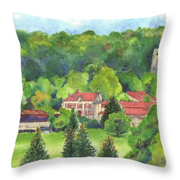 Giet Throw Pillow