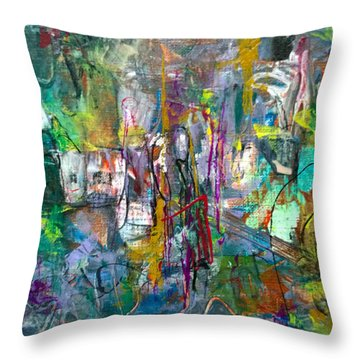 Gift From/to Oma Throw Pillow