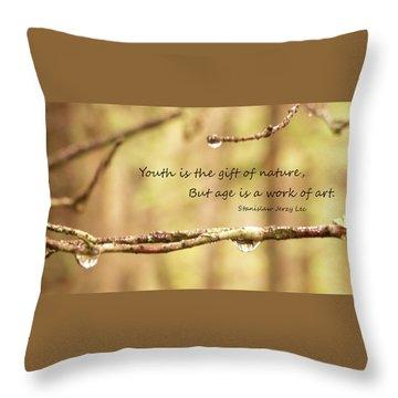 Gift Of Art Throw Pillow