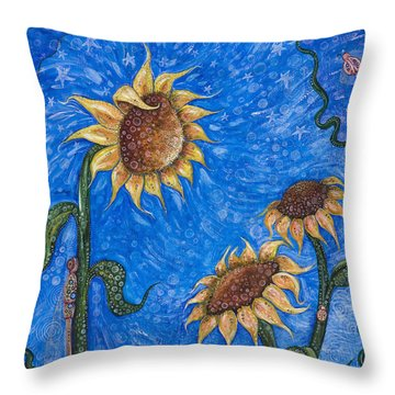 Gift Of Life Throw Pillow by Tanielle Childers