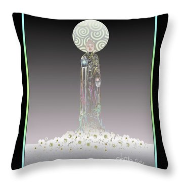 Gifts Of The Buddha II Throw Pillow