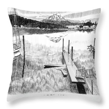 Become One Throw Pillows